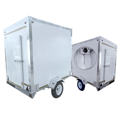 mobile freezers interior