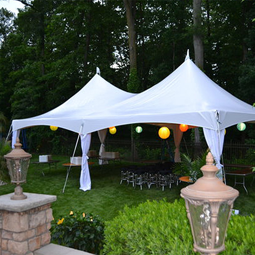 White classic tents for sale