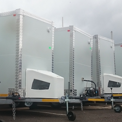 Single axle mobile chillers for sale