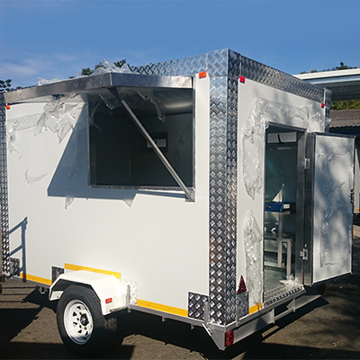 Brand new mobile kitchens
