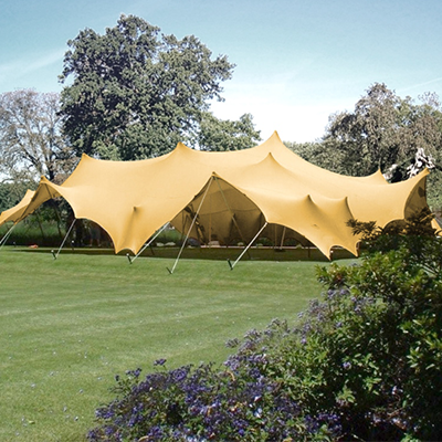 Badge stretch tents for sale